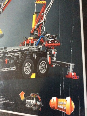 lego technic 42043 mercedes benz arocs 3245 doos met. Black Bedroom Furniture Sets. Home Design Ideas