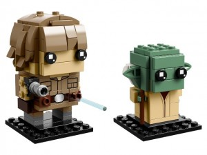 LEGO® Brickheadz™ 41627 Luke Skywalker™ en Yoda™