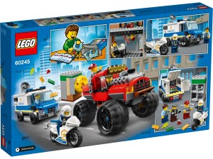 LEGO® City 60245 Politiemonstertruck overval