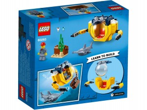 LEGO® City 60263 Oceaan Mini-Duikboot